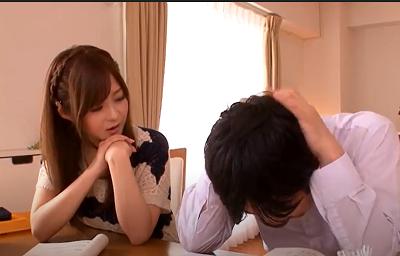 Chị gia sư xinh đẹp dâm đãng Rina Ishihara và cậu học sinh đẹp trai