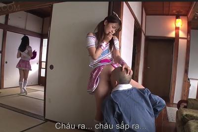 Sang nhà học múa hay là qua để địt bố của mình đây Yui Nagase